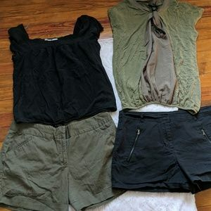 Other - Bundle of shorts and tops